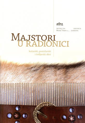 Naslovnica kataloga s izložbe MAJSTORI U RADIONICI