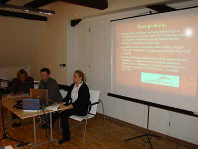 Predstavljanje baze podataka Centra za tradicijske obrte znanja i vještine