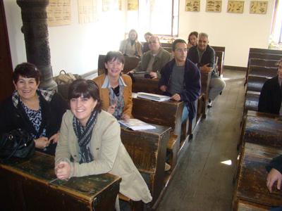 Radni sastanak u Staroj Pučkoj školi u Muzeju Staro selo Kumrovec